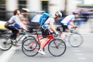 Fahrradfahrer sind im Straßenverkehr besonders gefährdet