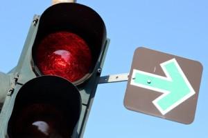Grüner Pfeil? Rechtsabbiegen ist unter gewissen Umständen erlaubt