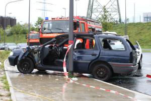 Ein Autounfall kann für alle Beteiligten oft schlimme Folgen haben.